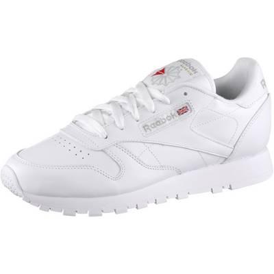 Reebok Classic Leather Sneaker Damen weiß