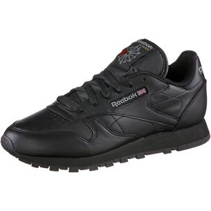 Reebok Classic Leather Sneaker Damen schwarz