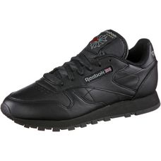 Reebok Classic Leather Sneaker Damen schwarz