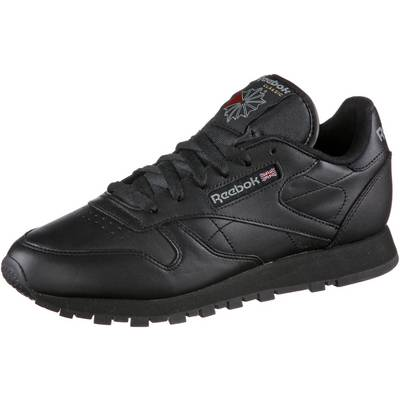 reebok classic leather sneaker damen schwarz im online. Black Bedroom Furniture Sets. Home Design Ideas