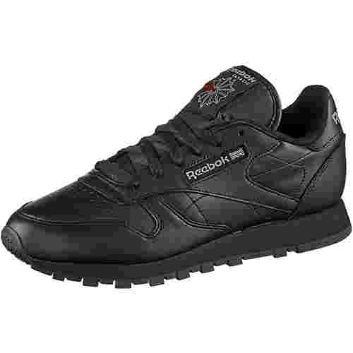 Reebok Classic Leather Sneaker schwarz