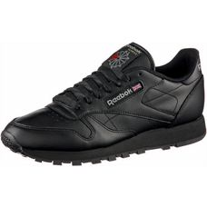 Reebok Classic Leather Sneaker Herren schwarz