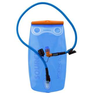Source Ultimate Hydration System Trinksystem transparent-blue