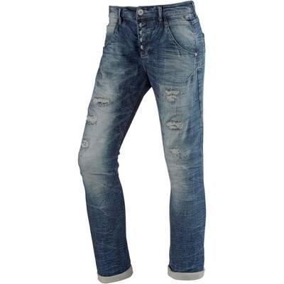 TIMEZONE RivaTZ Sweat Jeans Damen destroyed denim