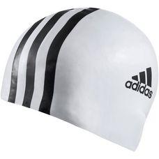adidas 3STR Badekappe weiß