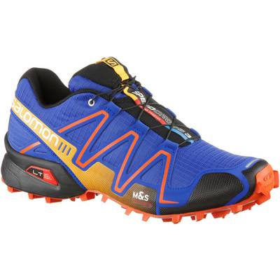 Salomon SPEEDCROSS 3 Laufschuhe Herren blau/orange