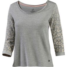 Neighborhood Sweatshirt Damen graumelange/leo