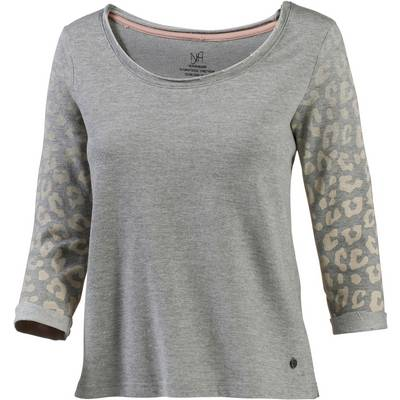 Neighborhood Sweatshirt Damen graumelange/leo