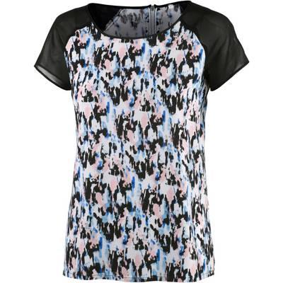 Neighborhood Printshirt Damen schwarz/bunt