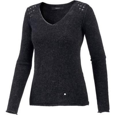 REPLAY V-Pullover Damen dunkelblau
