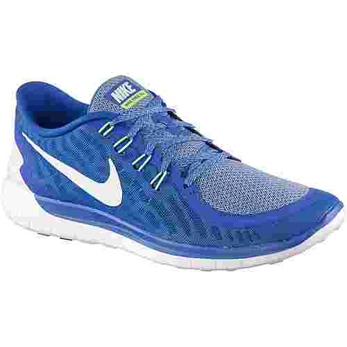 bab2b5da5e80e Nike Free 5.0 Laufschuhe Herren blau weiß im Online Shop von ...