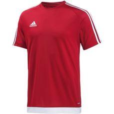 adidas ESTRO 15 Funktionsshirt Herren rot/weiß