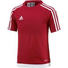 adidas ESTRO 15 Funktionsshirt Kinder rot/weiß