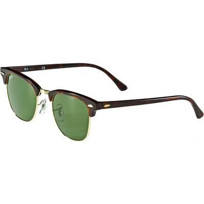 RAY-BAN Clubmaster Sonnenbrille schwarz