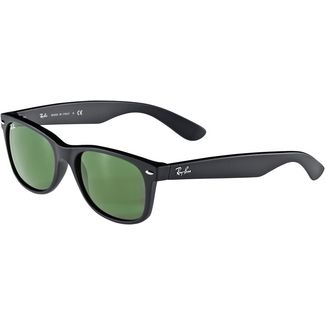 RAY-BAN New Wayfarer 0RB2132 Sonnenbrille black rubber