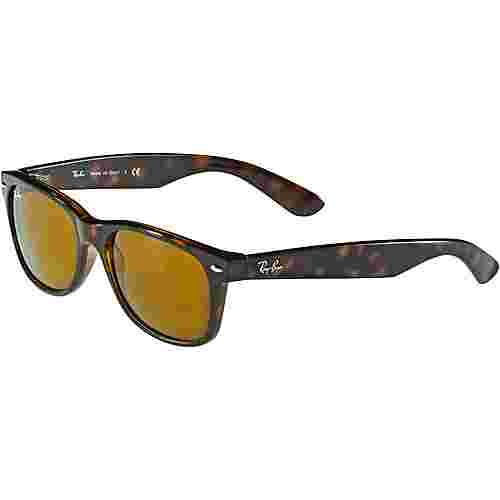 RAY-BAN New Wayfarer 0RB2132 Sonnenbrille light havana