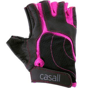 Casall Exercise wmns Fitnesshandschuhe Damen schwarz/pink