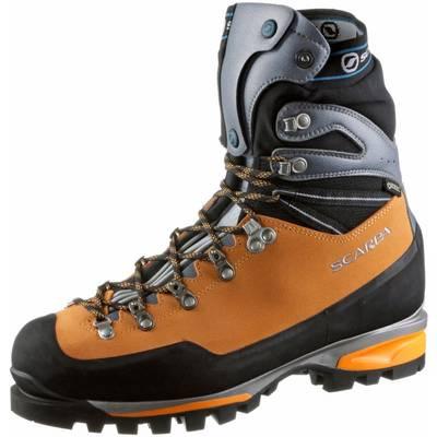 Scarpa Mont Blanc Pro GTX Alpine Bergschuhe Herren orange/schwarz