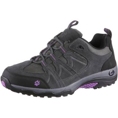Jack Wolfskin Traction Low Wanderschuhe Damen anthrazit/lila