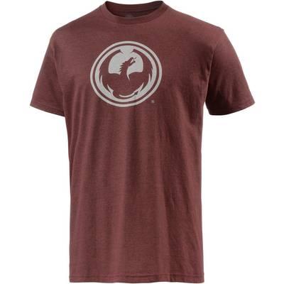 Dragon Icon Printshirt Herren rot