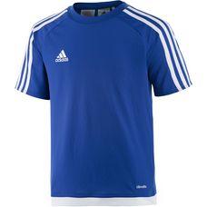 adidas ESTRO 15 Funktionsshirt Kinder blau/weiß