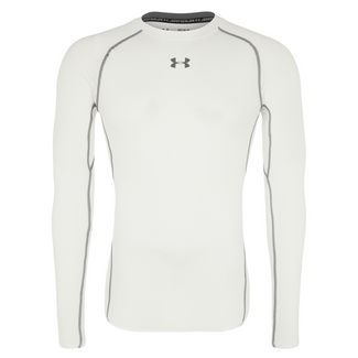 Under Armour Heatgear Armour Kompressionsshirt Herren weiß