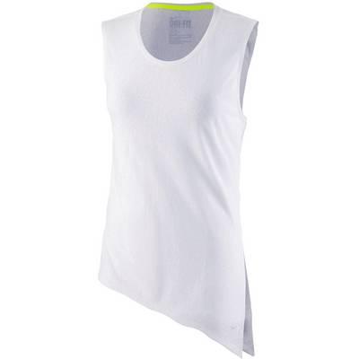 Nike Club Tie Tee Mezzo Funktionstank Damen weiß