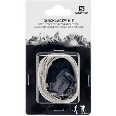 Salomon Quicklace Kit Schuhbänder grau