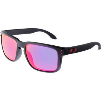 Oakley Holbrook Sonnenbrille matte black/positive red iridium