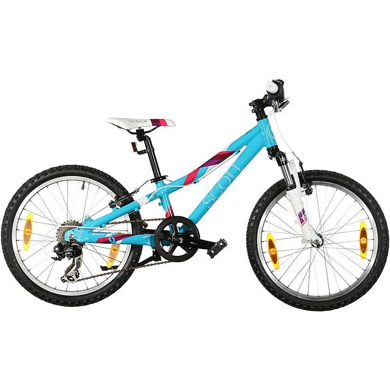 SCOTT Contessa JR20 MTB Hardtail Kinder blau im Online Shop von ...