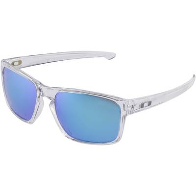 Oakley SLIVER Sonnenbrille polished clear/sapphire iridium