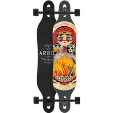 Arbor AXIS  GT Caliber 10 Longboard grau