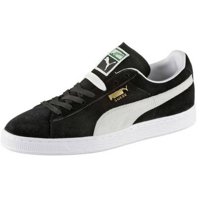 PUMA Suede Classic+ Sneaker schwarz/weiß
