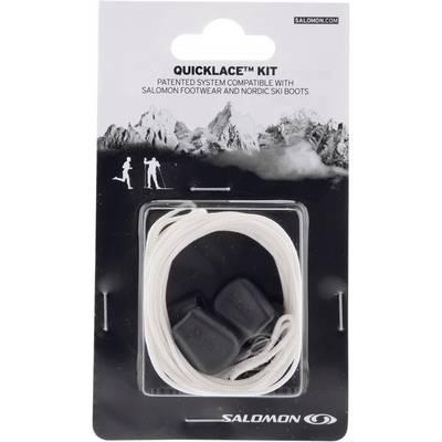 Salomon Quicklace Kit Schuhbänder weiß