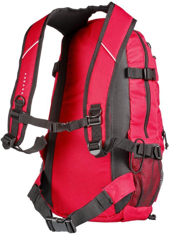 Artikel klicken und genauer betrachten! - Forvert LOUIS. Robuster Rucksack mit X-Bungee Boardhalterung und 2 Netz-Außentaschen;1 großes Hauptfach mit 2-Wege-Reißverschluss; diverse Reißverschlusstaschen; Rücken und Träger gepolstert;verstellbarer Brust- und Hüftgurt sowie 1 Bodenfach mit Reißverschluss; gestickte Logo-Details; Volumen 25 l; Maße ca. 52 x 27 x 15 cm; 100% Polyester.   im Online Shop kaufen