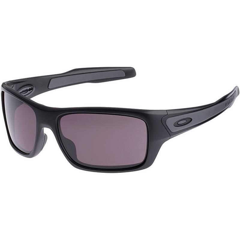 Oakley Turbine Sonnenbrille Matte Black/Warm Grey PvRujoW