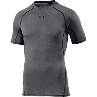 Under Armour Heatgear Armour Kompressionsshirt Herren grau