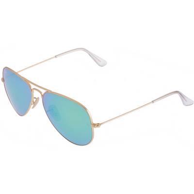 RAY-BAN Aviator Sonnenbrille goldfarben/türkis