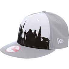 New Era München Skyline 9FIFTY Cap grau/weiß