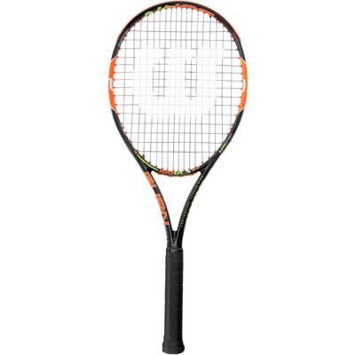 Wilson Burn 100 ULS Tennisschläger schwarz/orange