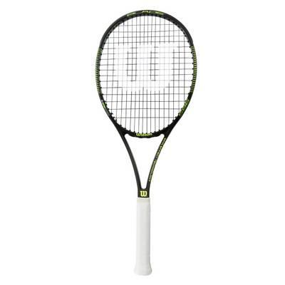 Wilson Blade 98 S Tennisschläger schwarz/grün