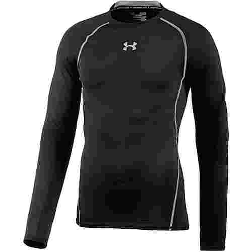 Under Armour Heatgear Armour Kompressionsshirt Herren schwarz