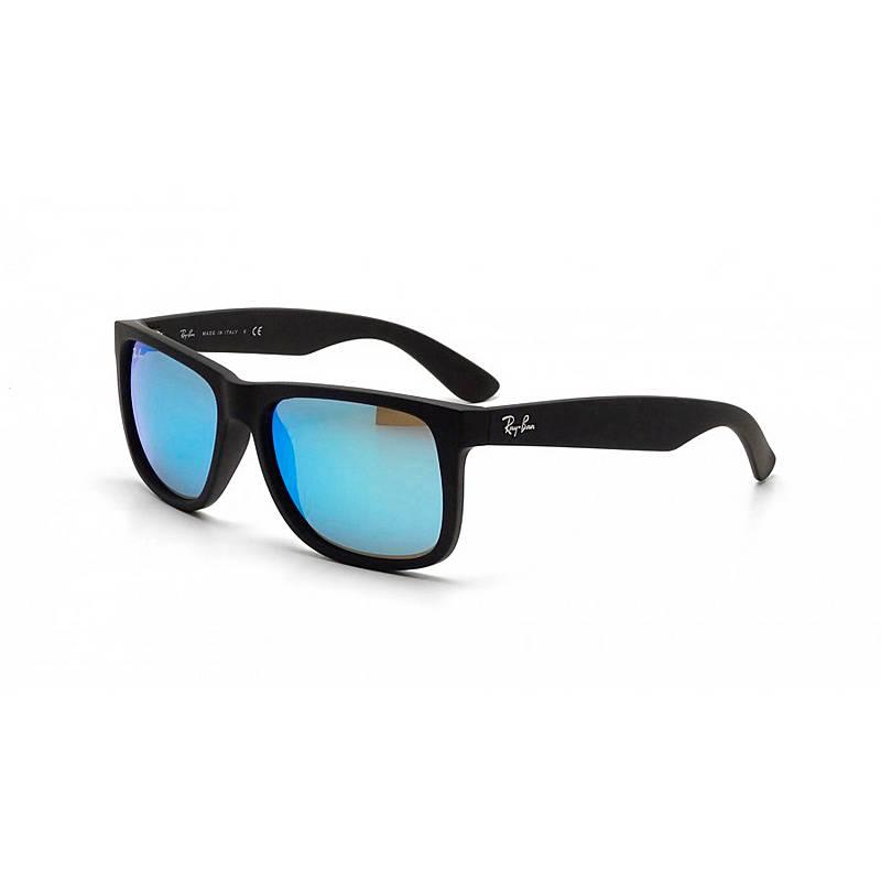 2edb0a940e RAY-BAN Justin 0RB4165 Sonnenbrille black rubber im Online Shop von ...