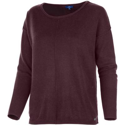 TOM TAILOR Strickpullover Damen beere