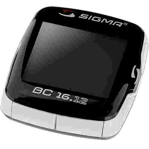 SIGMA BC 16.12 Fahrradtacho schwarz
