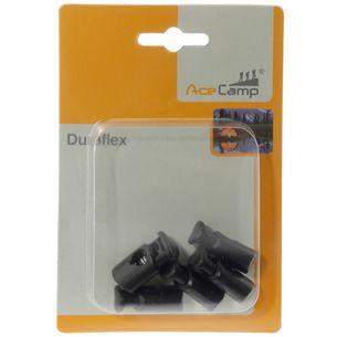 AceCamp Button Cord Locks Anti-Rutsch-Pad schwarz
