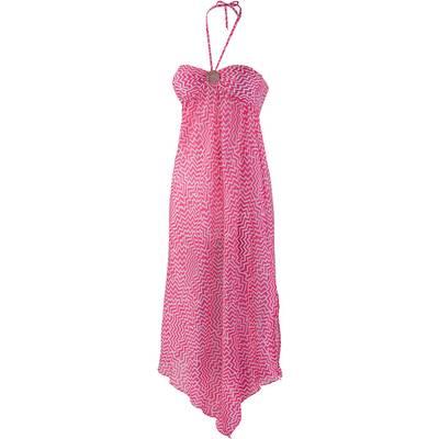 watercult Neckholderkleid Damen pink/weiß