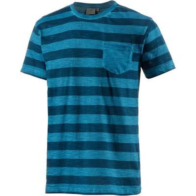PrimEmotion Stripe T-Shirt Herren blau