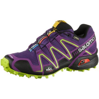 Salomon SPEEDCROSS 3 GTX Laufschuhe Damen lila