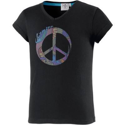 Chiemsee Printshirt Kinder schwarz